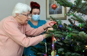 Christmas at a Cheltenham nursing home